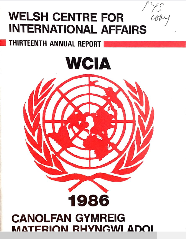 1986 WCIA 13th Annual Report