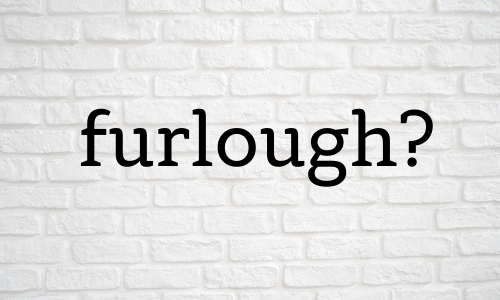 Furlough - For the Record COVID-19 project, 2020