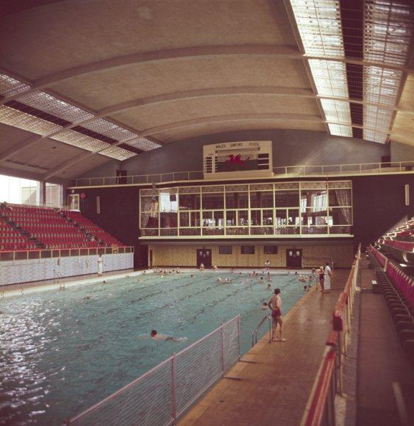 Empire Swimming Pool Cardiff Taken In 1962