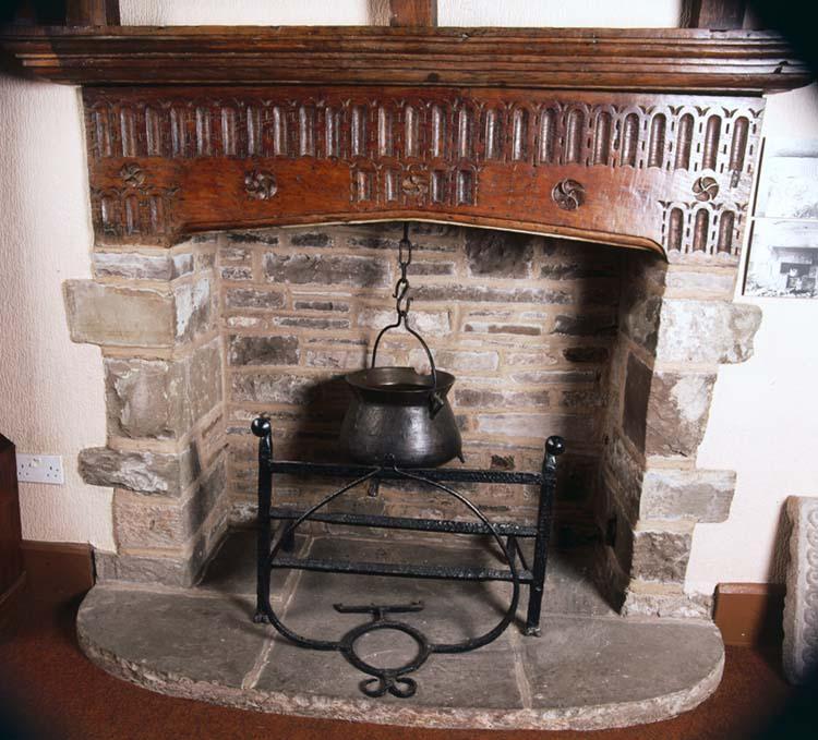 17th Century Fireplace Abergavenny