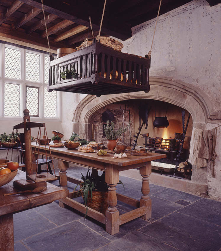 plas mawr conwy late 16th century townhouse the kitchen