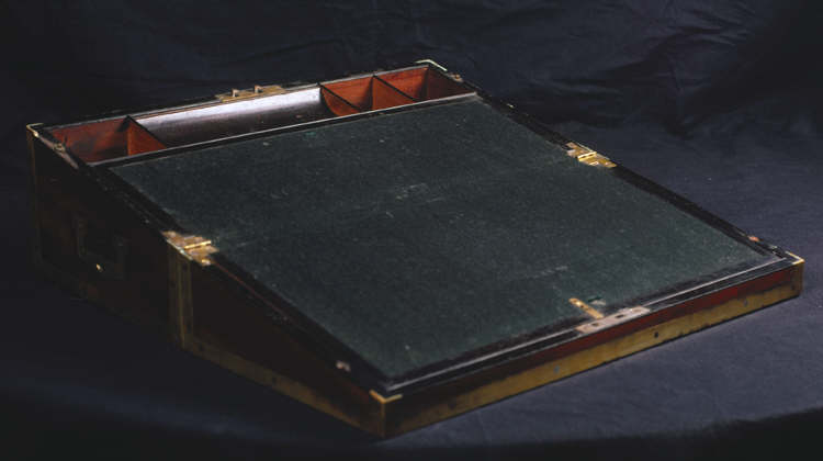 Mahogany Writing Desk Used By The Ladies Of Llangollen 1810