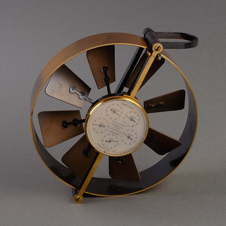 Air Velometer Made By Casella Of London 1889
