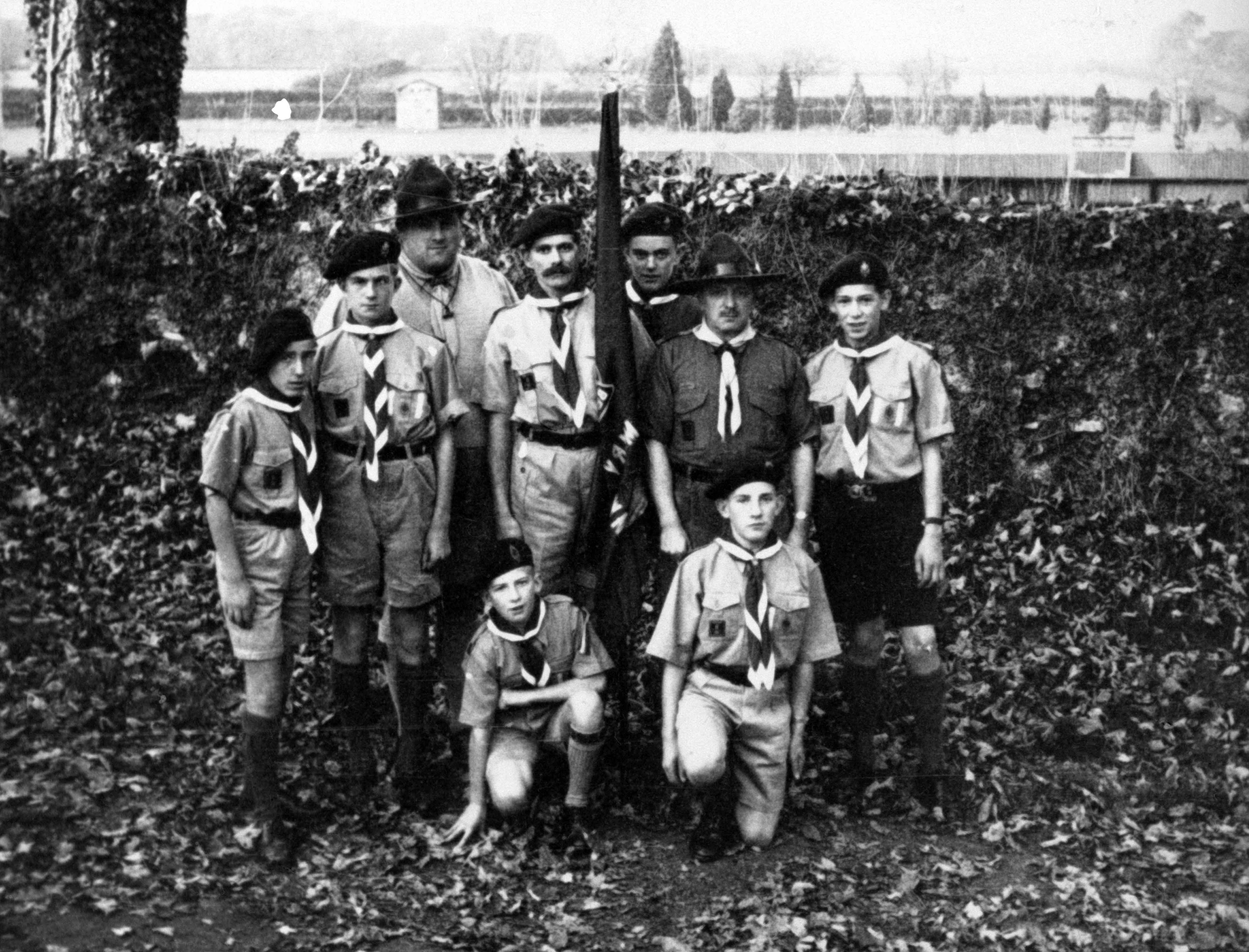 Scout Group' Cyntaf San Ffagan