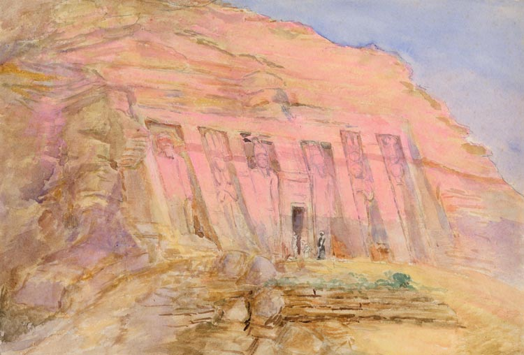 Italian Florence: Abue-Simbel, Egypt;Smaller Temple Put Up By Rameses To His