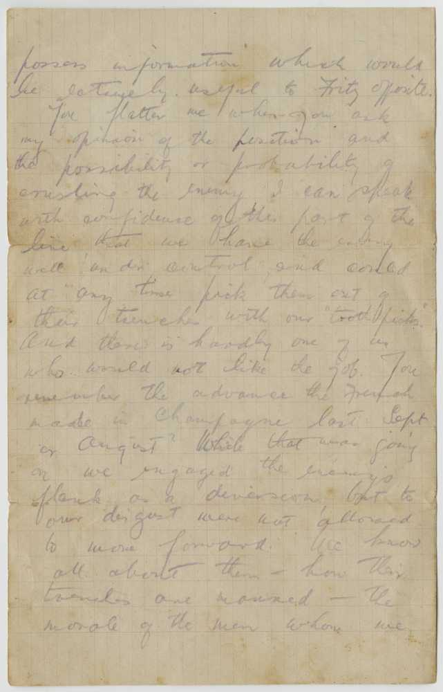letter from trenches Across the online resources letters from the first world war, 1915 and letters from for example, some letter writers have detailed their experience of the trenches, injury, or active service in the.