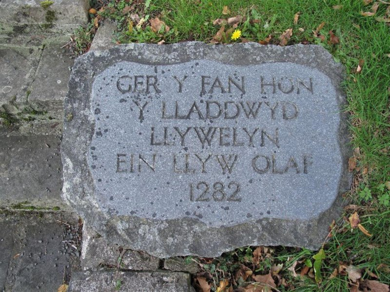 Stone Memorial To Llywelyn Ap Gruffudd Climeri