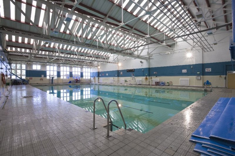 Swimming Pool At Raf St Athan 2009