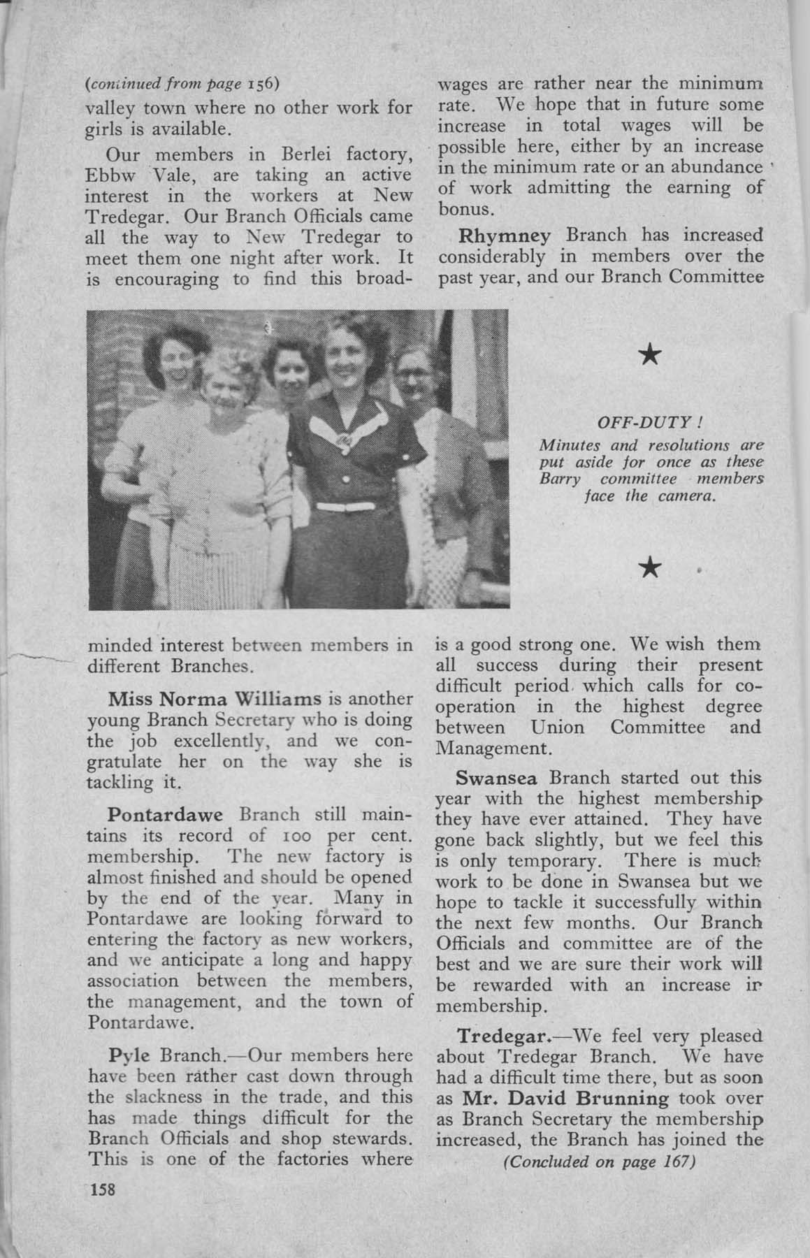 the garment worker 39 1952 union magazine. Black Bedroom Furniture Sets. Home Design Ideas