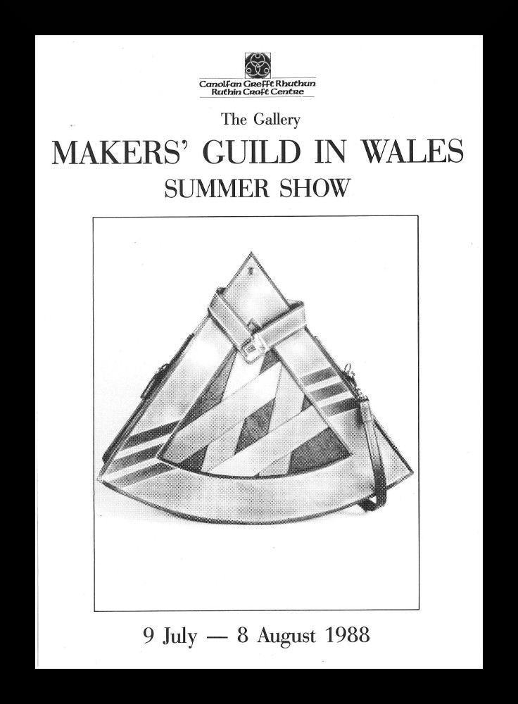 A Leaflet For The Mgw Summer Show At The Ruthin Craft