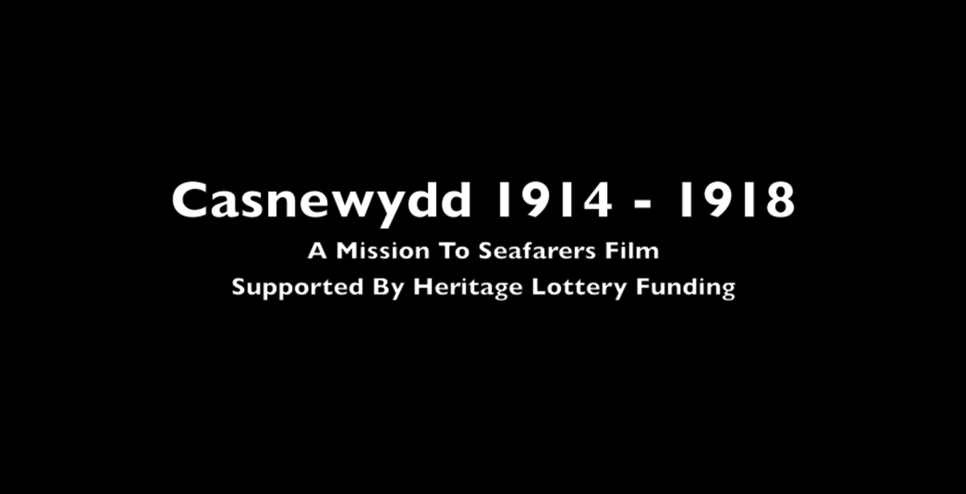 Newport 1914-1918 (Welsh version)