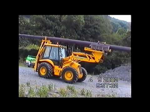 No 8 Manweb at Rhiwgreiddyn Slate Quarry 2002...