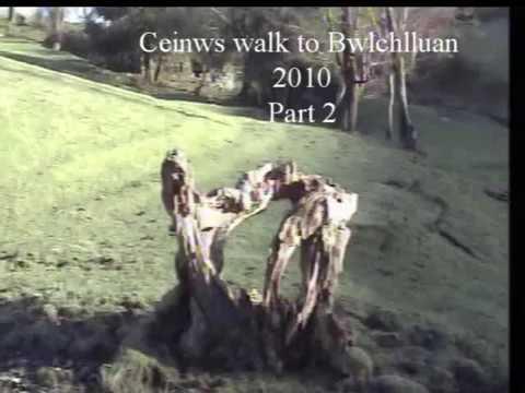 Ceinws - tro i  Bwlchlluan 2010 rhan 2