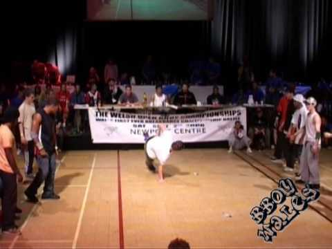 2005 Welsh Open BBoy Championships final!...