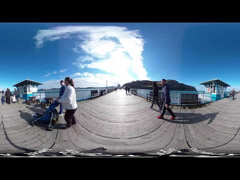 Llandudno Pier, 2019 (360-degree video)