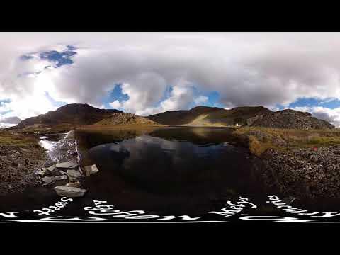 Cwmorthin Lake, 2019 (360-degree video)