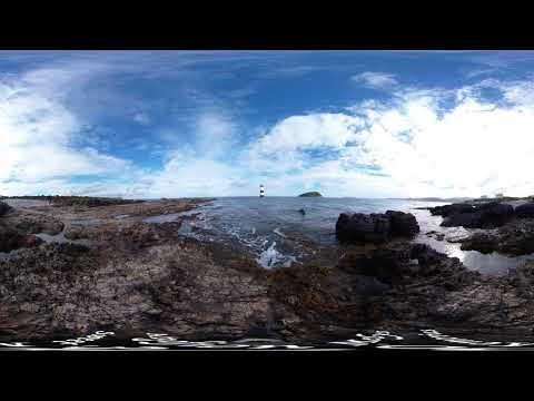 Penmon, Black Point (Trwyn Du) Lighthouse and...