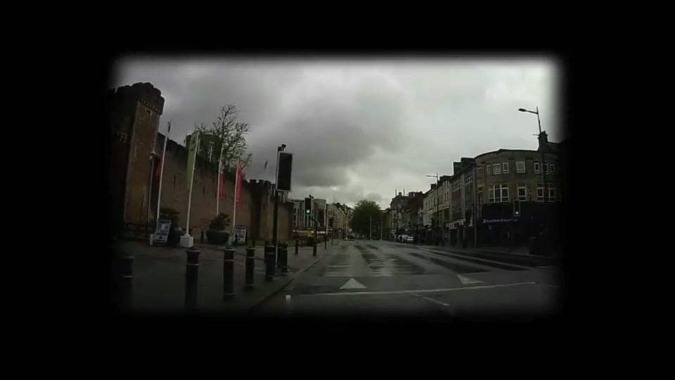 COVID-19: A Drive Through Locked-Down Cardiff