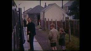 Taith o Afon Wen i Fangor yn 1964