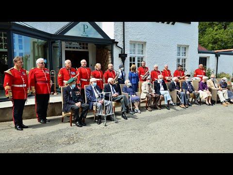 Aberporth WW2 Veterans Event film June 6th 2021...