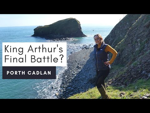 Porth Cadlan in North Wales / King Arthur'...