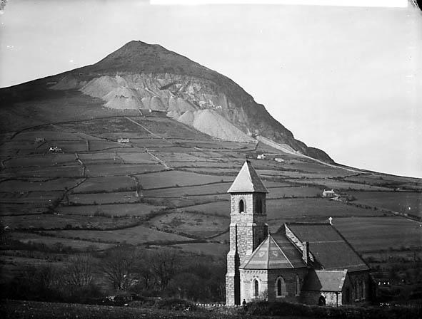 Church And Quarry Trefor Llanaelhaearn