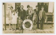 The family Rees James Jones & Ann Jones