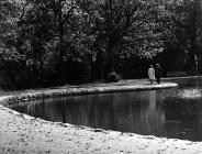 Ffotograffiaeth Hans Hoyer - Parc Aberdâr 1960au