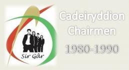 Carmarthenshire YFC Chairs 1980s