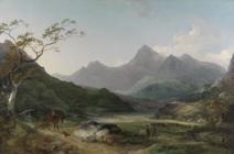 Tirluniau Cymru - Casgliad Paul Mellon, Yale...