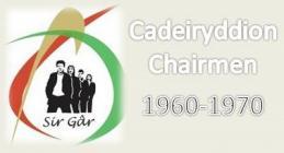 Carmarthenshire YFC Chairs 1960s