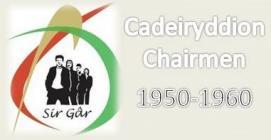 Carmarthenshire YFC Chairs 1950s