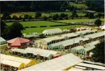 National Eisteddfod Wales - Llanrwst 1951 and 1989