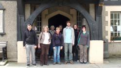 Archive training at Corris Institute