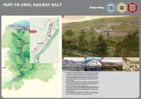 09 - Platfform Rheilffordd Pent-yr-awel.