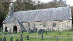 Llanwrin church