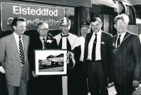 A locomotive named after the Eisteddfod!