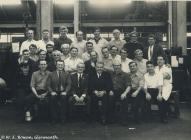Factory Workers at Rheola Works Glynneath