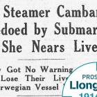Cardiff's merchant fleet takes a heavy toll