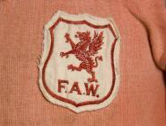 Welsh international football shirts