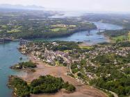 Aerial Views of the Coastline of Anglesey