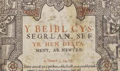 William Morgan's Welsh Bible of 1588
