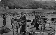Merched Cymreig mewn Cymunedau Glan Môr c.1800...