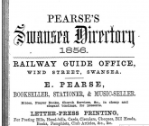 Advertisements from Pearse's Trade Directory 1856