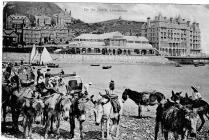 On the beach, Llandudno 1906