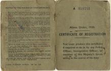 Joe Lisak Certificate of Registration
