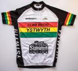 Seventh Ystwyth Cycle Club jersey used 2010 - 2016