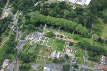 Aerial photograph of Museum of Welsh Life, St...