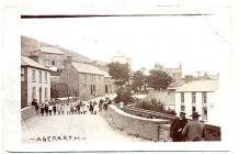Aberarth Postcard sent to Lance Corporal Arthur...
