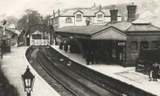 Blaenavon Railway Station.